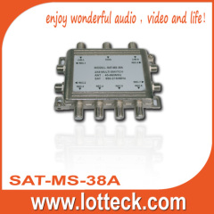Support Mutifunctional satellite system 3×8 multiswitch