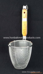 Stainless steel noodle strainer skimmer