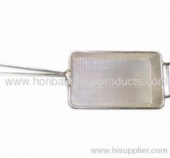 Storage uasge)Kitchen Fry Basket/Wire Mesh Metal products in