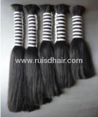 100% GOOD QUALITY INDIAN VIRGIN REMY HAIR BULK