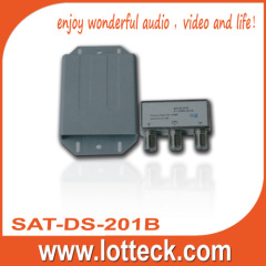 2 in 1 DiSEqC switch for satellite receiver