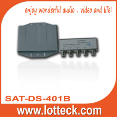 LOTTECK CE Certifcated 4×1DISEqC Switch