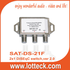Metal LOTTECK 2 in1 1DISEqC Switch