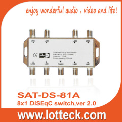 LOTTECK ver2.0 DiSEqC 8×1 Switch