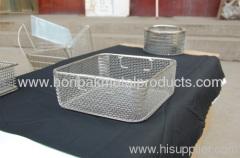 Iron Wire Mesh Basket