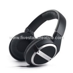 Sennheiser HD448 Closed Circumaural Hi-Fi Around-Ear Headphones in Black