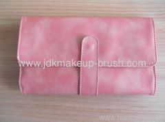 Pink PU Cosmetic Pouch