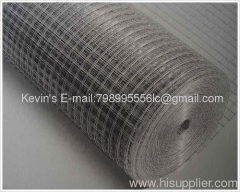 Welded wire mesh/ galvanized PVC coated welded wire mesh