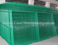 electro galvanized/ PVC coated welded wire mesh