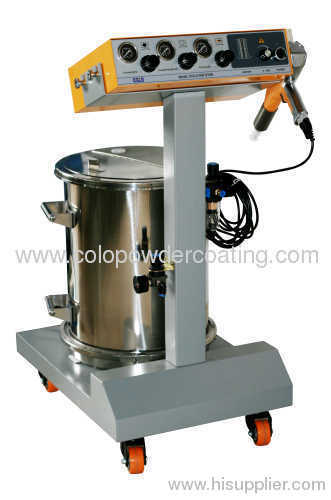 Best Quality electrostatic powder coating machine supplier in China easy operate machine COLO-500 STAR