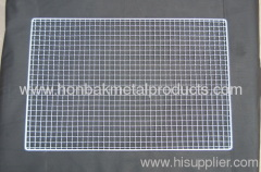 crimped wire mesh/bbq metal grill netting
