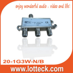 LOTTECK 20-1G3W-N/B 3-way splitter
