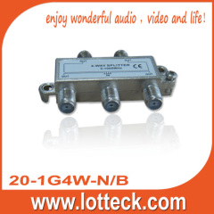 20-1G4W-N/B 5-1000MHz 4-Way Splitter