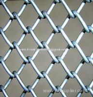 galvanized chain link wire