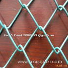 galvanized /PVC coated chain link wire mesh