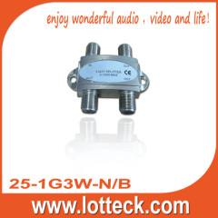 5-1000MHz 25-1G2W-N/B 2-WAY SPLITTER