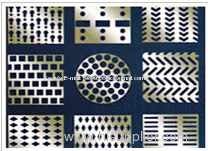 Perforated steel perforated galvanized steel