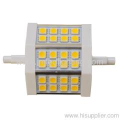 78mm 6w r7s led light 24smd