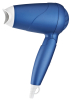 travel hair dryer with foldable handle & dual voltage