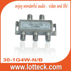 30-1G4W-N/B 5-1000MHz 4-WAY SPLITTER