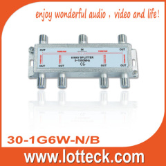 LOTTECK 30-1G6W-N/B 6-WAY SPLITTER
