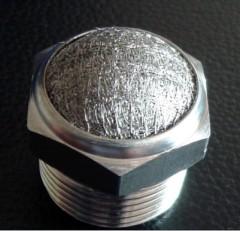 stainless steel silencer muffler pneumatic filter BSLM BSL