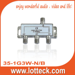 35-1G3W-N/B CE approved 3-WAY SPLITTER