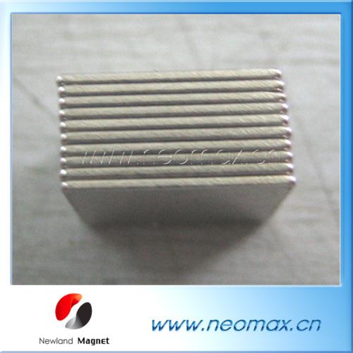 Small block neodymium magnets