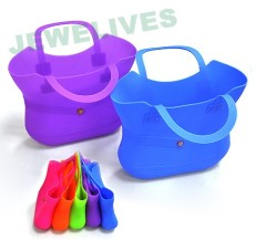 Fashion Silicone shopping bags & handbags