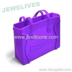 Colorful Rubber Ladies buy handbags