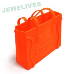Rubber Square Hand bag