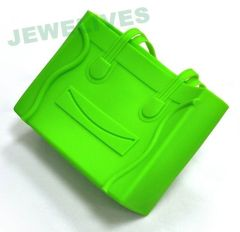 LFBG Smile Face Silicone Lady hand bag