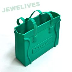 Silicone Ladies hand- bag with Smile face