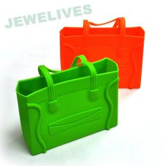 Silicone & Rubber Luaggage Bag with Smile face