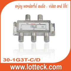 High performance for isolation 3-WAY SPLITTER