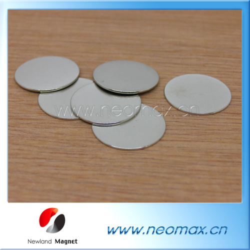 thin round magnets thin NdFeB magets