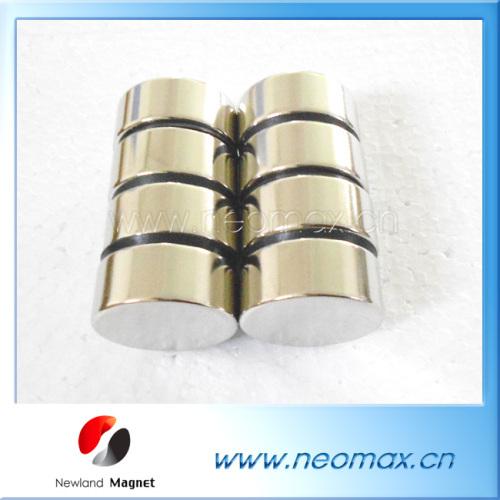 Strong round neodymium magnets
