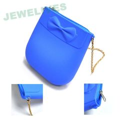 Pop Silicone & Rubber Cosmetic BAG in Cany color