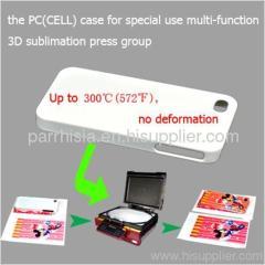High temperature resistance PC 3D phone case