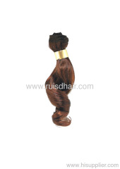 100% Indian Human Remy Curly Machine Made Hair Weft