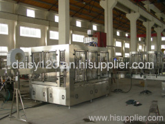 bottle filling capping and washing machine