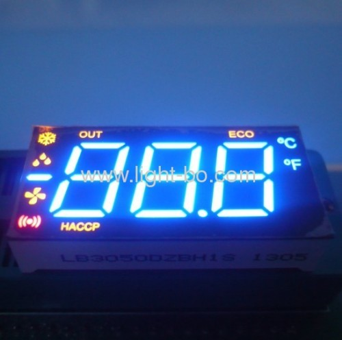 Multicolor 0.50-inch 3 1/2 Digits 7-segment LED Display, Ideal for Air ConditionerControllers