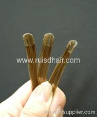 Cheap U-tip pre-bonded keratin hair extension