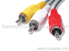 Good Quality Rca Cable/av cable/audio /video cable