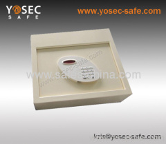 Hotel Digital drawer safe top opening mounting in office furniture