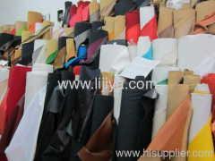 synthetic furniture garment handbag leather