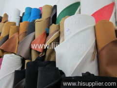 fashionable embossing synthetic leather