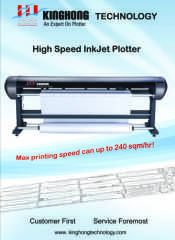 HIGH SPEED INK JET PLOTTERS