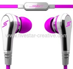 SMS Audio STREET by 50 Earbuds In-Ear Pink
