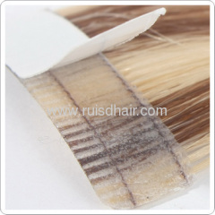 TAPE HAIR EXTENSION MACHINE MADE GOOD QUALITY 100% human